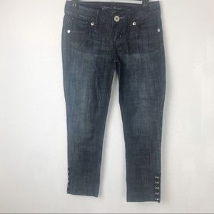 Guess cropped/ ankle jeans